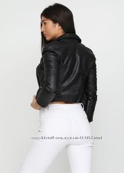 Куртка косуха укороченная h&m оригинал рXS-S