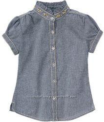 Джинсовая блузка Gymboree