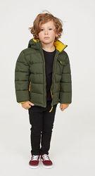 Куртка H&M с отстегивающимся капюшоном на 3-4 года 104 см