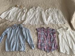 Рубашечки для девочки 7-10 лет