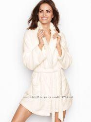 Флисовый мягкий халат от Victorias Secret, в размере XS и S
