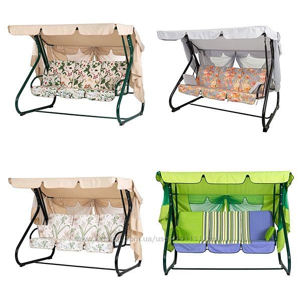 Качеля садовая Вилла, разные цвета - Бесплатная доставка