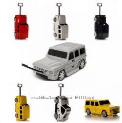Детские чемоданы-машинки Ridaz Mercedes, Batmobile, Lamborghini - Оригинал