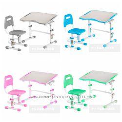 Парта и стул для школьника FunDesk Vivo - Бесплатная доставка