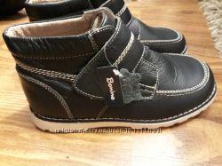 Ботинки кожаные Bonino Испания, размер 36, стелька 22. 5 см