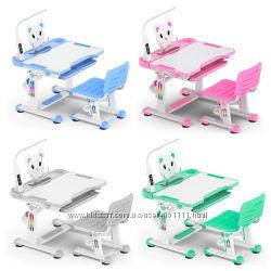 Парта и стул для школьника Mealux BD-04 Z XL Teddy - Оригинал
