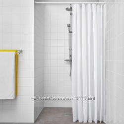 Качественные и красивые . Шторки для ванной ИКЕА . В наличии .