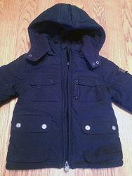 Куртка зимняя Chicco размер 80см 15месяцев