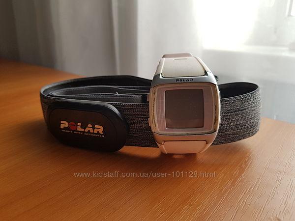 продам спортивные часы Polar FT60 M с нагрудным пульсометром