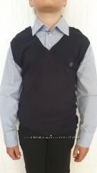 Рубашка-обманка для школьника р. 146-152 Турция