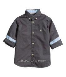 Хлопковые рубашки L. O. G. G. для H&M 116р