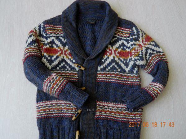 Шерстяной свитерок NEXT 116см 5-6р