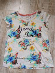 Летний яркий фирменный комплект из футболок