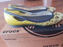 Туфли балетки Crocs 37-38 размер