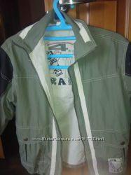 куртка ветровка , джиносовая