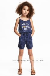 Наборчики от HM, F&F, Disney для маленьких  модницы