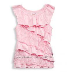 С&A Новая нарядная майка-футболка 116р