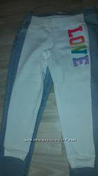 Спортивные штаны с начесом - на 5-6 лет