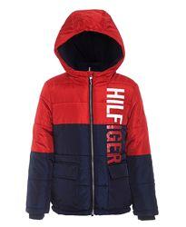 Теплая демисезонная курточка на мальчика TOMMY HILFIGER. Оригинал. 2-4 года