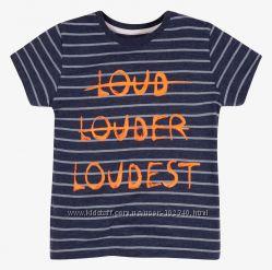 Новые футболки и майки из Германии на мальчиков от 1 до 5 лет