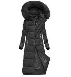 Женское тёплое зимнее пальто. Размер 56-58. Польша