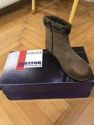Класні натуральні чобітки Bistfor