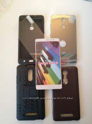 Чехлы Xiaomi Redmi Note 3, 2броне-стекло все по 100грн