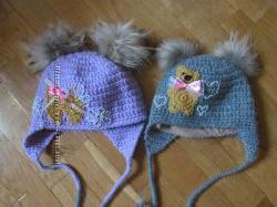 Зимові шапочки