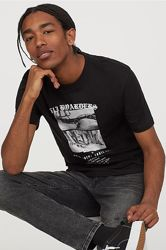 Мужская футболка H&M. С, М