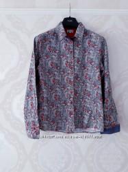 Размер М Стильная брендовая качественная хлопковая рубашка Grenouille