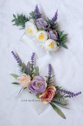 Гребни с цветами &127807