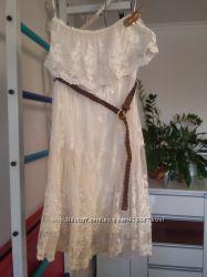 Платье кружево размер S