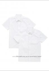 школьные рубашки английских брендов George и F&F для юношей и девушек