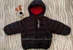 дутая курточка KIABI на 1-2 года и кроссовки Puma в подарок