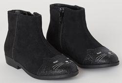 Ботинки с кошкой демисезонные H&M
