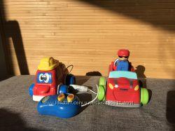 Машинки для самых маленьких tomy