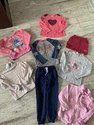 Пакет одежды для девочки на рост 116-122 см