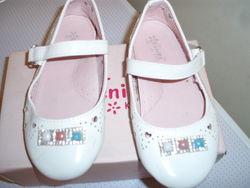 Туфельки белые Kenike