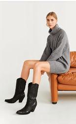 Платье свитер Манго рМ новая коллекция