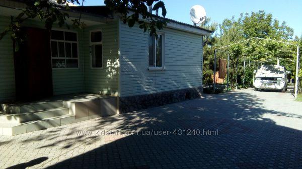 Комфортабельный дом до 8 чел. Урзуф на берегу Азовья до моря 200метров