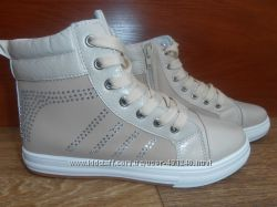 Стильные деми ботинки-хайтопы наличие все рр. 36-41