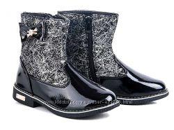 Акция красивые стильные деми ботиночки наличие все рр. 32-36