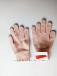 Трикотажные яркие перчатки C&A