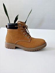 37 р Кожаные стильные ботинки Crane
