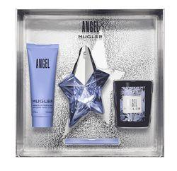Angel thierry mugler, оригинал набор парфюм, лосьон, свеча