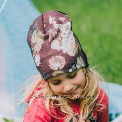 Демисезонная шапочка для девочки от DemboHouse