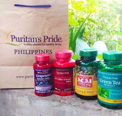 Puritans Pride Пуритан витамины косметика USA США Глюкозамин Хондроитин