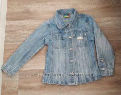 Джинсовая курточка пиджак Topolino Тополино на рост 110-122 см