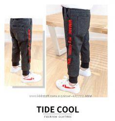Стильные брюки с лампасами, осень, 100, 130см