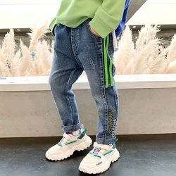 Супермодные джинсы узкачи, без утепления, р90-140см